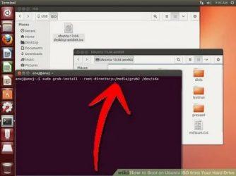 Как открыть образ диска ISO в Ubuntu?