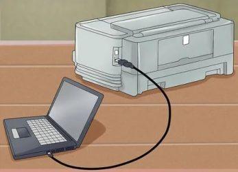 Как подключить принтер Brother к ноутбуку?