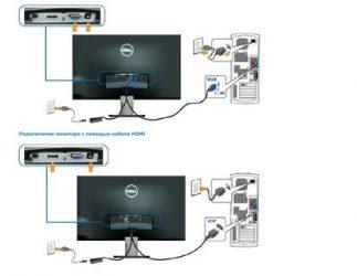 Как подключить монитор с колонками к компьютеру?